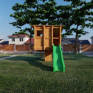 aangepast huisje m in standaard tuin_1 – Foto
