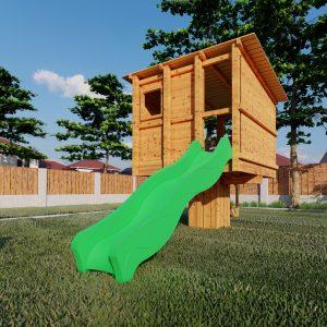 aangepast huisje m in standaard tuin_3 – Foto