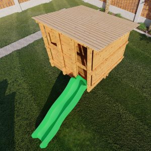 aangepast huisje m in standaard tuin_4 – Foto