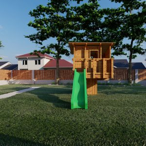 aangepast huisje m standaard tuin_1 – Foto