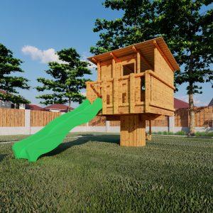 aangepast huisje m standaard tuin_3 – Foto