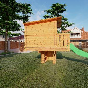 aangepast huisje xl standaard tuin_2 – Foto