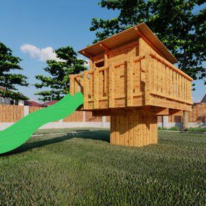aangepast huisje xl standaard tuin_3 – Foto