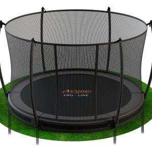 avyna_ronde_ingraaf_trampoline_met_veiligheidsnet_gras_poten